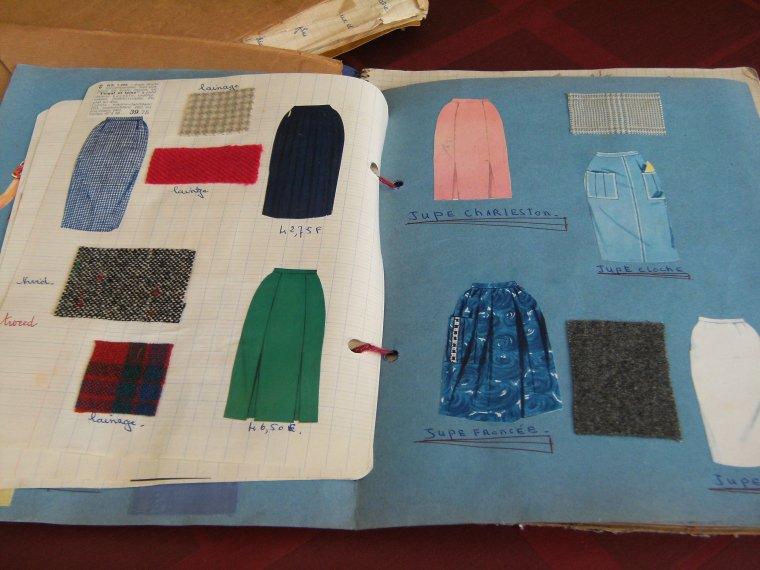 Quelques photos de mes cahiers d'apprentissage de 1962 et 1963