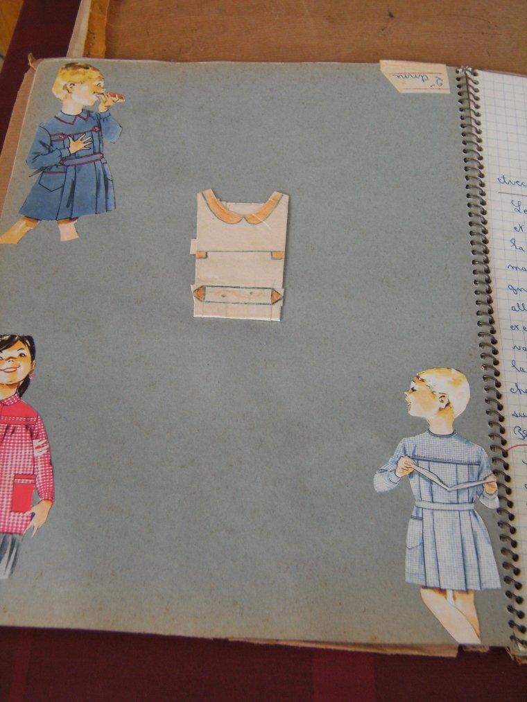 Après mon cahier de couture mon cahier de repassage  !!