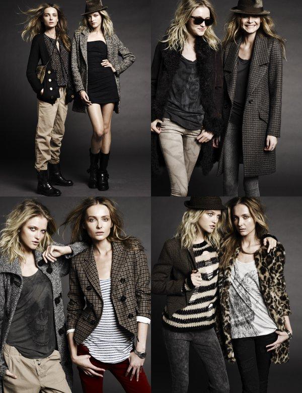 Set Ad Campaign Fall 2011 (With Snejana Onopka)