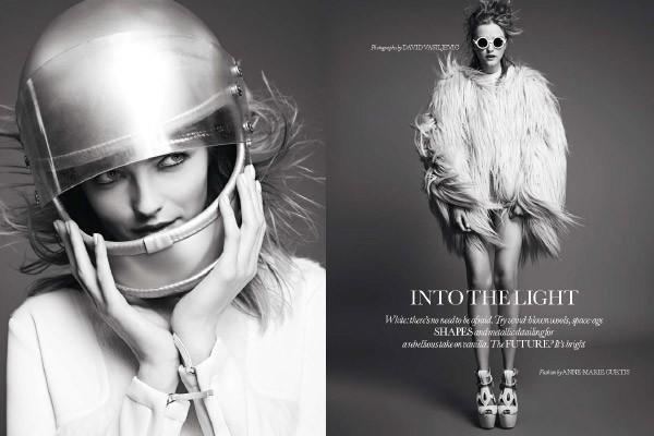Into the light - UK Elle September 2011  by David Vasiljevic