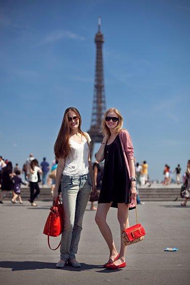 No showcard for Vlada...  (En photo Vlada & Alla après S.Rolland Couture)