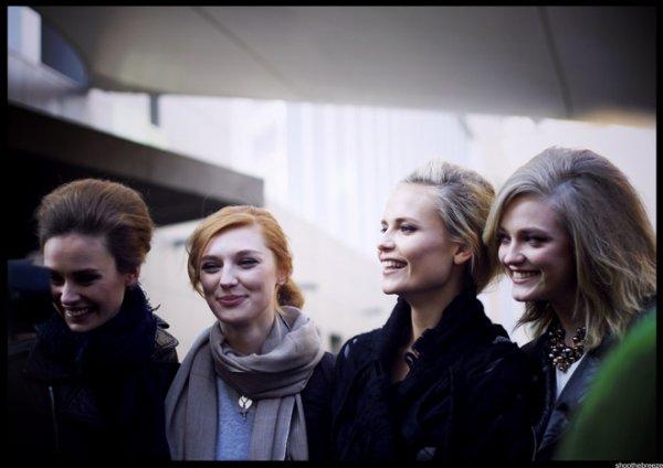 Outside Bottega Veneta Fall 2011 - The Russian Team