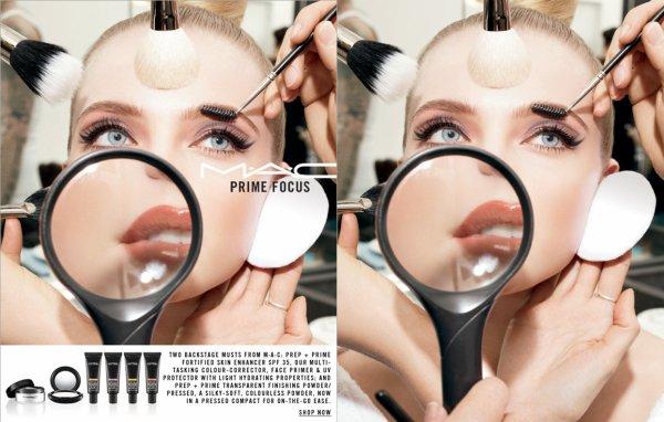 "M.A.C ""Prime Focus"" Ad Campaign Fall 2011"