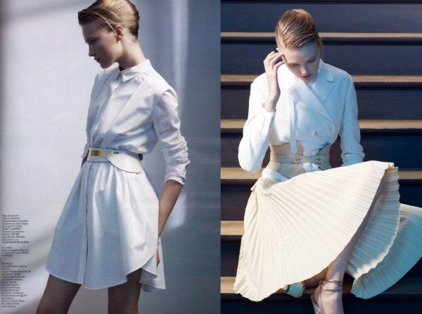 La petite chemise blanche - Les Echos Série Limitée March 2012 by Sophie Delaporte