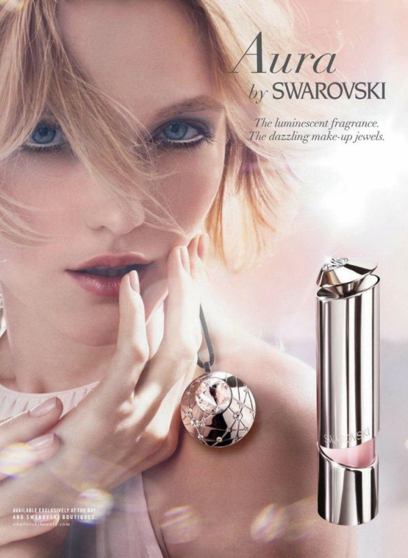 Aura by Swarovski by Craig McDean 2012 ad Campaign