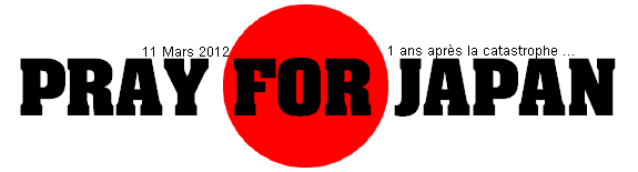 pray for japan ♥