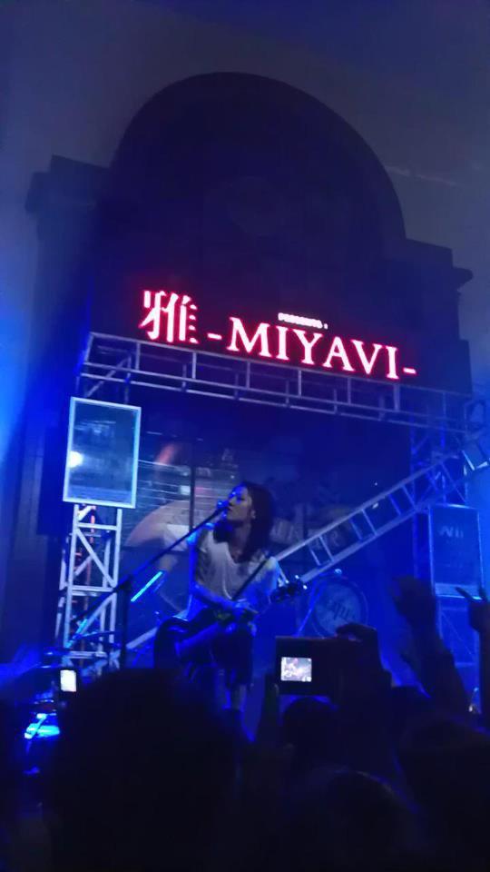 MIYAVI HARD ROCK CAFE -JAKARTA-