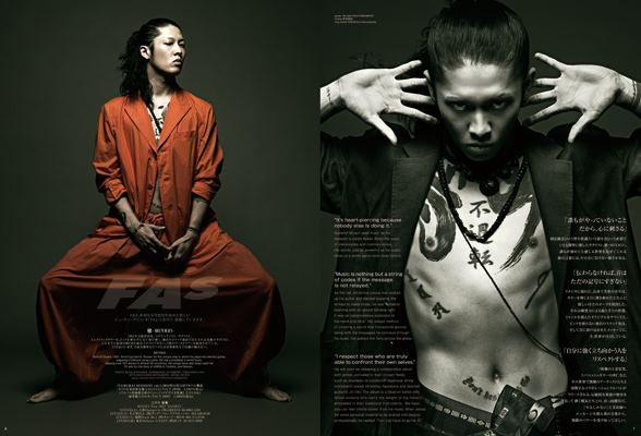 MIYAVI FA magazine <3