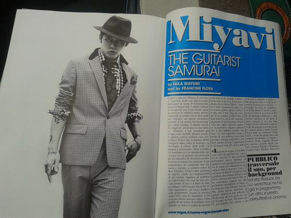 MIYAVI x L'UOMO VOGUE ITALY oct 2013 [FULL INTERVIEW in english]