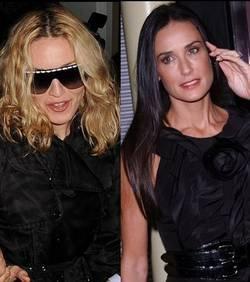 Demi Moore : réconfortée par Madonna !