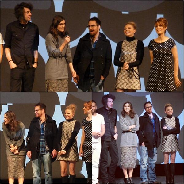 """17/01 : Comme convenu, Chloë était présente au """"Sundance Film Festival"""" afin de présenter Laggies. Elle a posé sur le tapis rouge avec ses co-stars du film, comme Keira Knightley, puis a présenté le film, et a été photographié à l'after organisé par """"DIRECTV"""""""