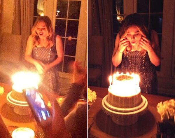 → 10/02 : A l'occasion de son anniversaire, notre miss a fêté en famille et amis ses 17 bougies.