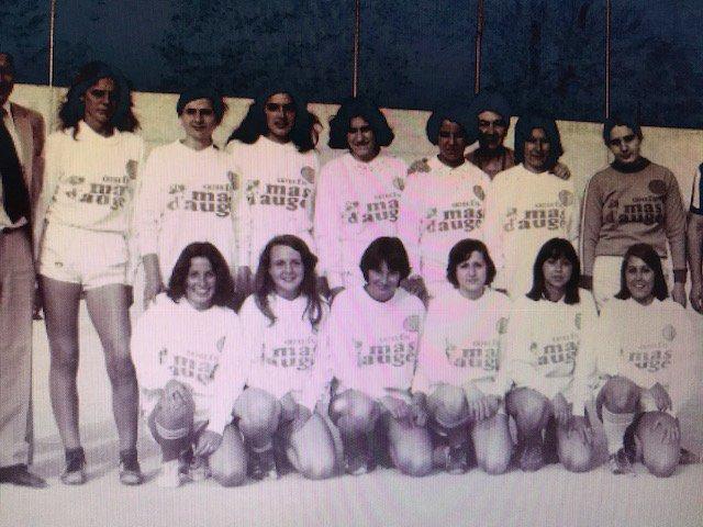 maillots année 1977/78 Féminine.