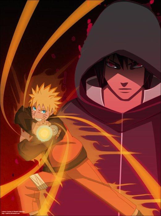 image Naruto et Sasuke