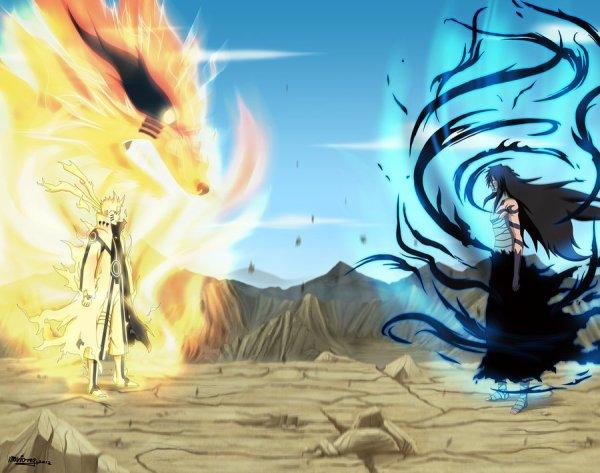 Image Naruto et Tobi