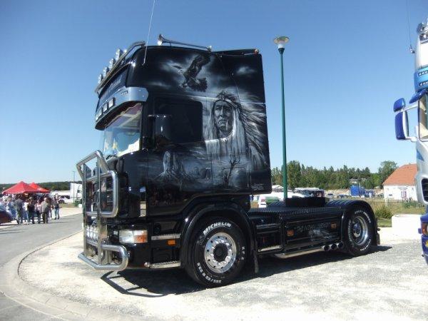 camion décoré !!