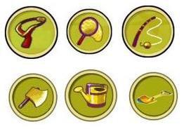 Les objets en or