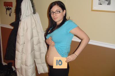 D ja 10 semaines une nouvelle vie commence - Je porte mon bebe bas fille ou garcon ...
