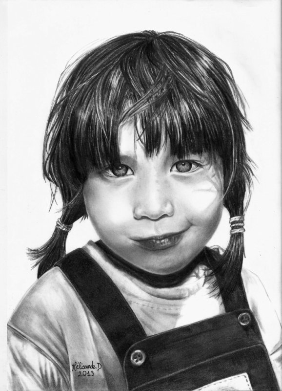Autoportrait : Retour en enfance !