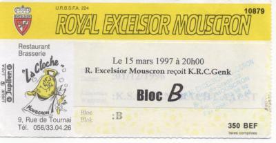 R.EXCELSIOR MOUSCRON - KRC GENK