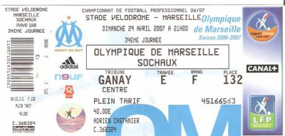 OLYMPIQUE MARSEILLE - FC SOCHAUX