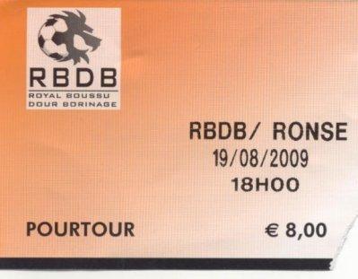 R.BOUSSU DOUR BORINAGE - SK RENAIX