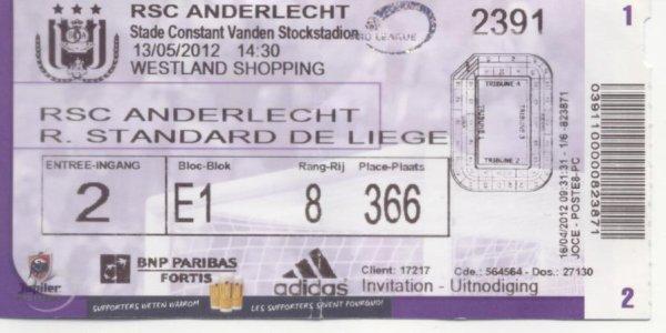 RSC ANDERLECHT - STANDARD LIEGE