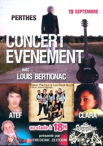 Passe Partout & Rock Key's en Vedette de Louis Bertignac