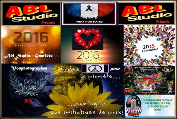 L'Equipe vous souhaites Bon Noël et ses Bons V½ux 2016