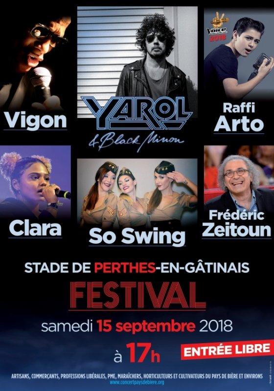 Concert Festival (77) Perthes en Gatinais - GRATUIT
