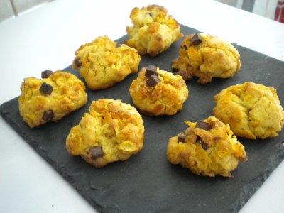 petit biscuit corn flakes choco
