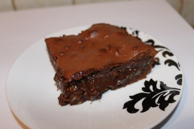 Brownies mi-cuit au lait condensé