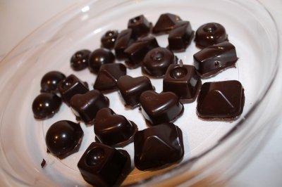 Mes ptits chocolats maison!!!