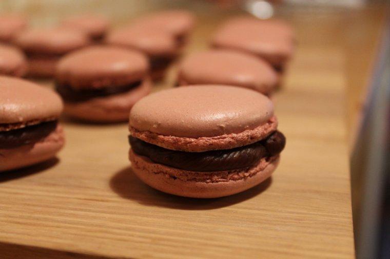 Macarons chocolat épicés