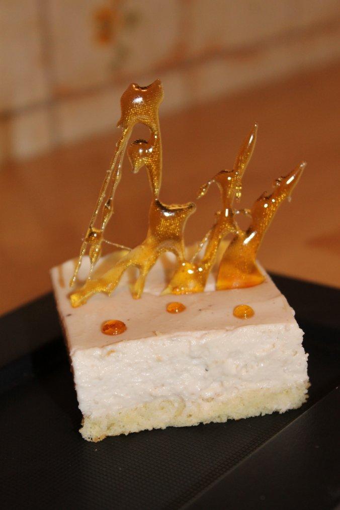 Le Cheeserois aux marrons (mi cheesecake-mi bavarois)