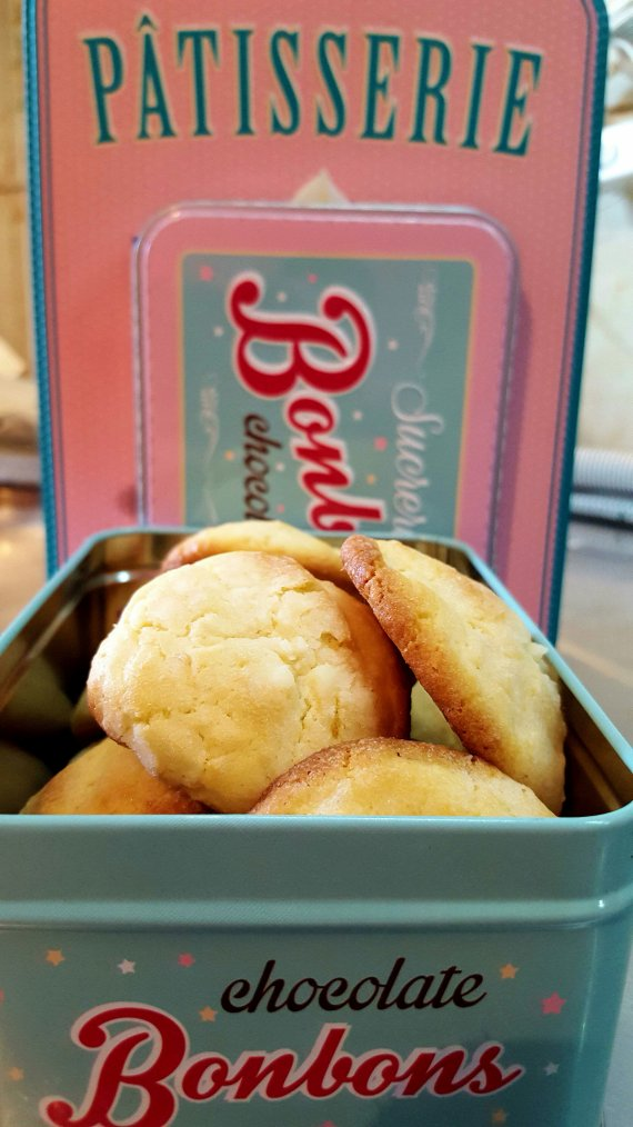 Biscuits style cookies, au citron