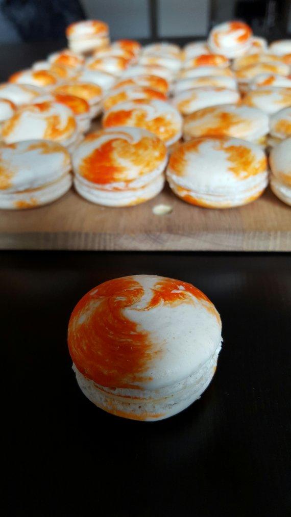 Macarons Abricot Romarin