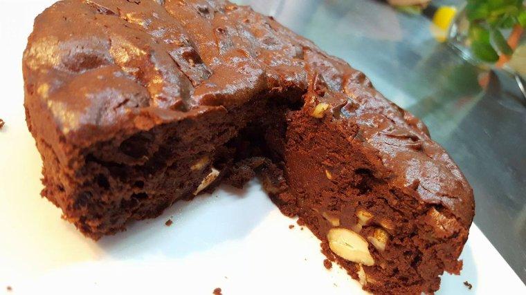 Brownies Chocolat Avocat Noix de Cajou