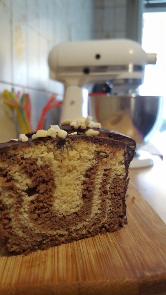 Cake marbré de M. Felder