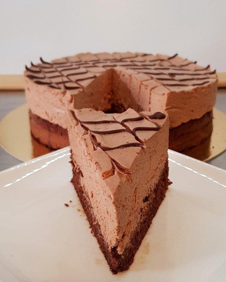 Gâteau mousse chocolat café