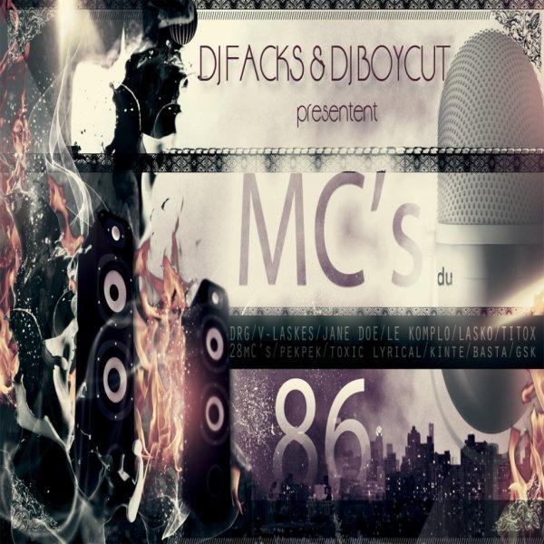 Dj Facks & Dj boycut presentent mc's du 86