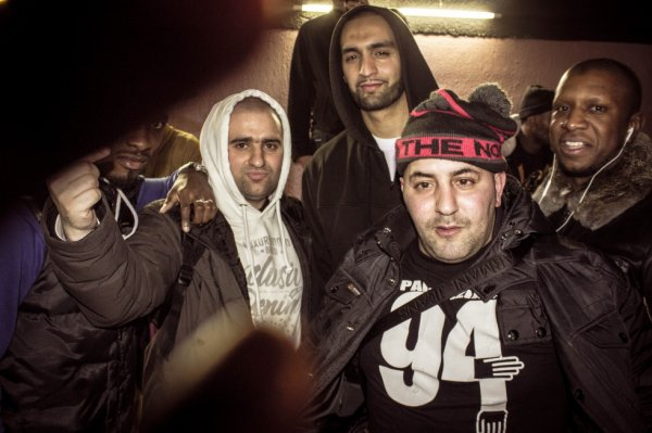 DJ Facks , Ali (45 scientific) , Mans La Morsure , Soukos