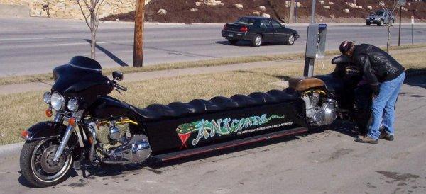 moto long tres long