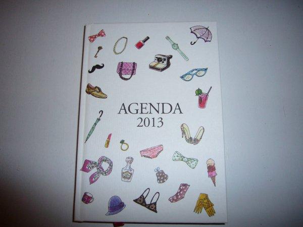 ***PARTI *** Offre un superbe agenda !