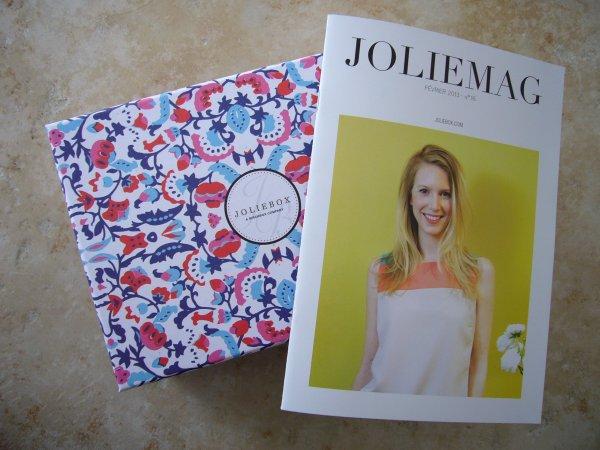 Revue sur la Joliebox de février