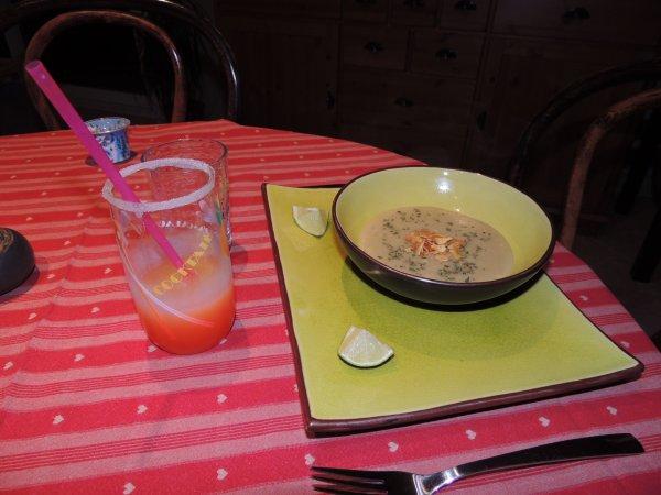 Mon diner St Valentin avec Cookin theworld (bon réduction inside)