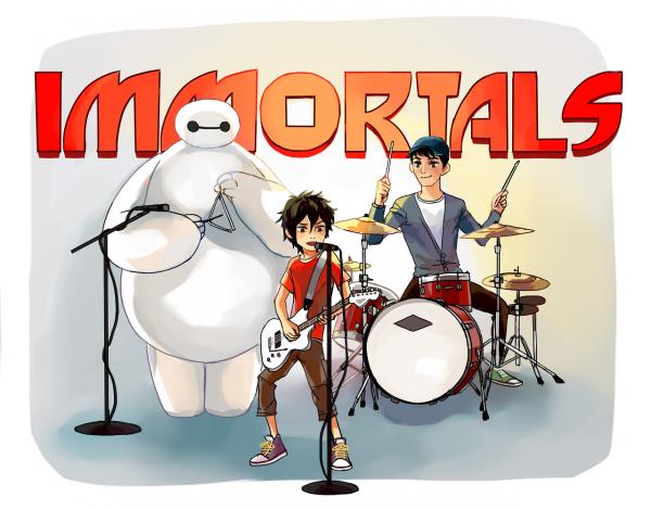Les paroles de la chanson << Immortals >>.