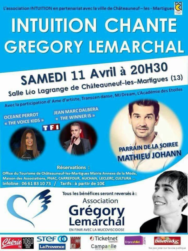 Intuition chante Grégory Lemarchal