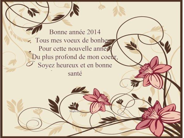 Bonne Année !!!!!