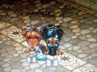 Encore Minnie-x3 et moi